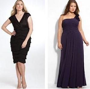 платья для полных
