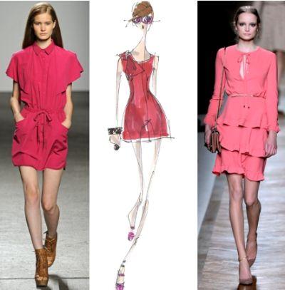 Модные цвета 2011