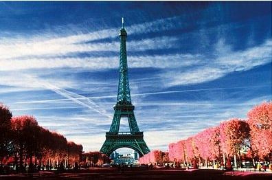 свадебное путешествие в Париже