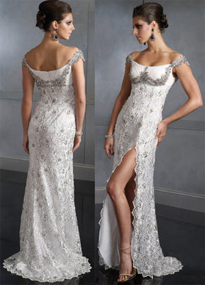 Модные платья с кружевом фото