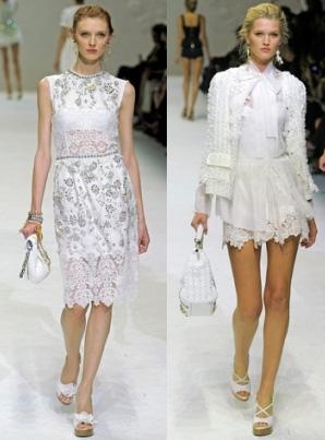 Модные платье из кружева