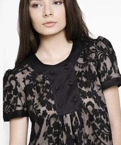 Модные платья с кружевом. Фото