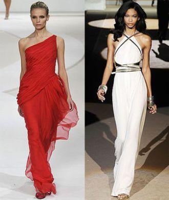 Выкройки платья греческого стиля
