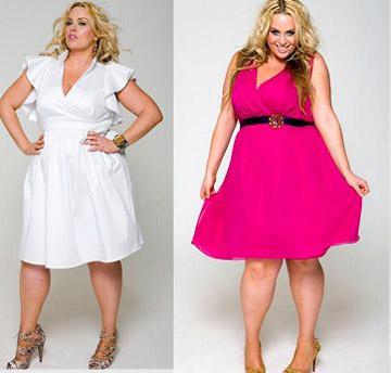 фото платья для полных