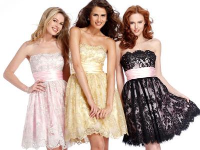 платья на выпускной 2011