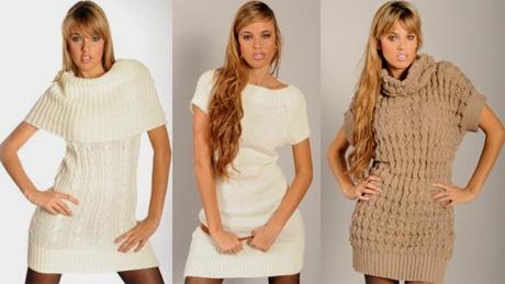 Трикотажные и вязанные платья