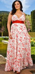 Модные платья для полных. Фото