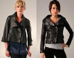 Модные кожаные куртки 2011