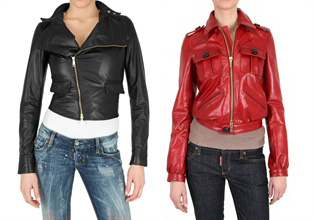 короткие кожаные куртки 2011