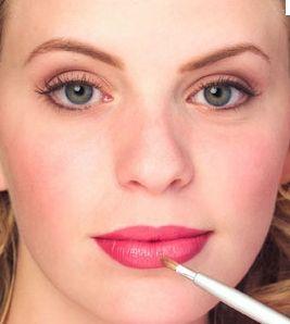 Увеличить губы в домашних условиях — массаж и макияж