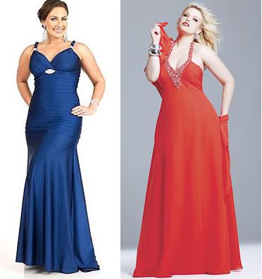 Вечірні сукні для повних жінок фото