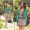 Модные юбки 2012: разнообразие форм, цветов и материалов