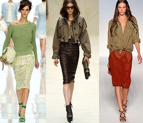 модные юбки 2012