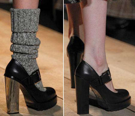 модная обувь осень зима 2012 2013