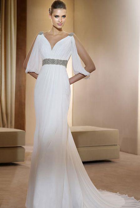 фото платья в греческом стиле свадебные