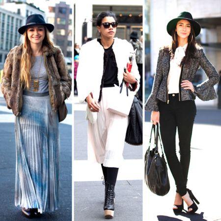 ретро стиль в одежде