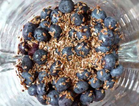 семена льна для похудения - смузи
