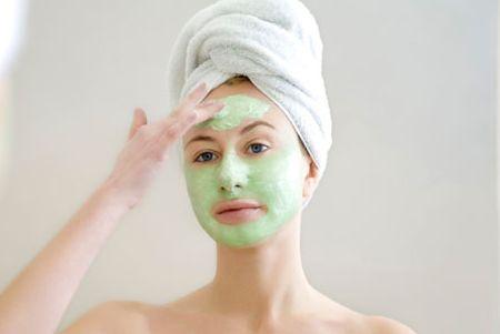 быстрая маска для жирной кожи лица