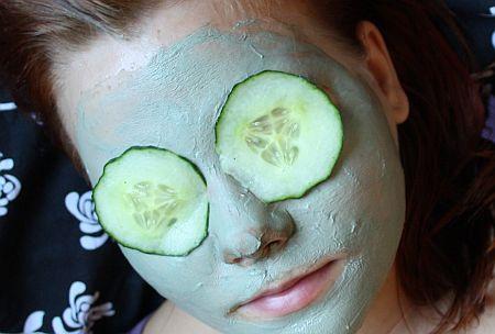 Голубая глина для лица - маски, показания, правила применения