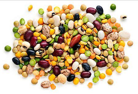 Чечевица, горох и фасоль - одни из самых богатой клетчаткой продуктов