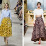 Летние женские юбки: модные тенденции