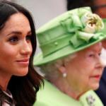 Британская королева не желает слышать о Меган Маркл