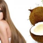 Кокосовое масло предотвратит выпадение волос