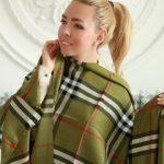 Шарф палантин – стильный женский образ
