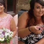 Британка перед свадьбой отца похудела на полцентнера