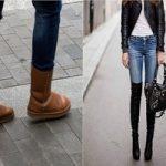 Не всякая обувь подходит под джинсы