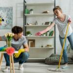 Как приучить мужчину помогать во время уборки