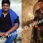 Парень из Индии за 7 месяцев сбросил полцентнера