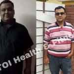Сбросивший 41 кг мужчина назвал главные секреты похудения