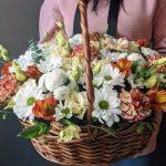Цветочные корзины от Mak Flower Shop с доставкой